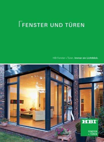 FENSTER UND TÜREN - HBI Holz-Bau-Industrie GmbH & Co. KG