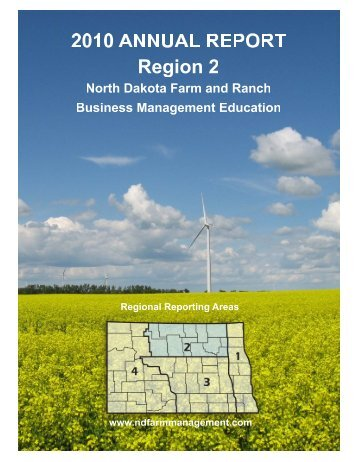 2010 Region 2 Report - North Dakota Farm Management