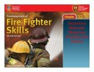Hazardous Materials: Response Priorities and Actions