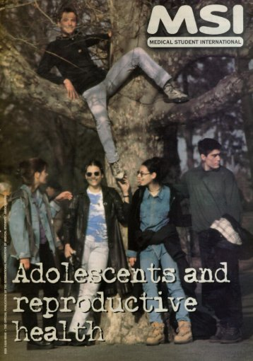 Adolescents and reproductive health