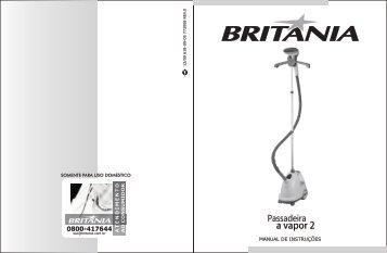 618 09 05 Rev0 Folheto de Instruções Passadeira a Vapor 2 - Britânia