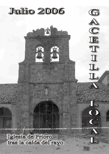 Julio 2006 - Revista Comarcal de la Montaña de Riaño