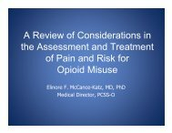 A Review of Considerations in the Assessment and ... - PCSS-O