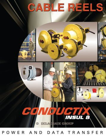 CONDUCTIX Industrial Cable Reels - Allied Safety Engineering
