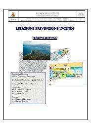 Relazione normativa antincendio - Comune di Messina