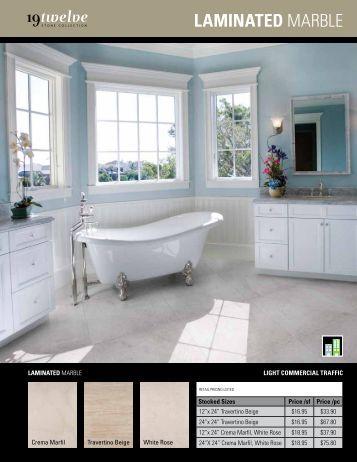 Laminated Marble - Ames Tile & Stone