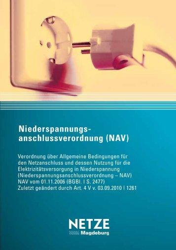 niederspannungs- anschlussverordnung (nAV) - SWM Netze