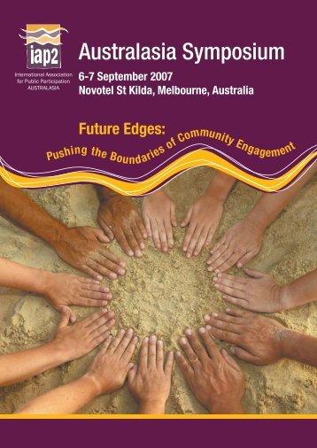 Australasia Symposium - International Association for Public ...