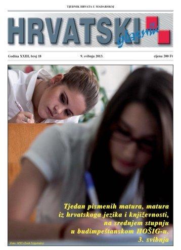 18. broj 9. svibnja 2013.