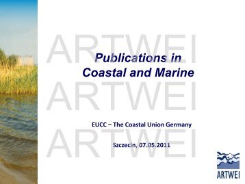 Publications in Coastal and Marine - Baltic Lagoon Network