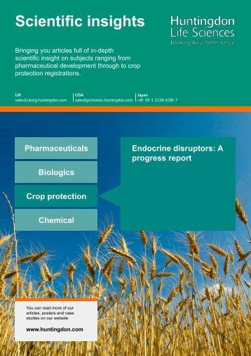 Endocrine disruptors - a progress report - LSR associates