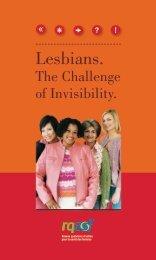 Lesbians. - Réseau québécois d'action pour la santé des femmes
