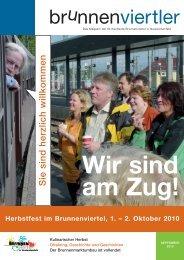 S ie sin d h e rzlic h w illko m m e n Herbstfest im Brunnenviertel, 1.