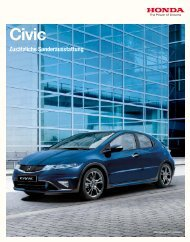 Civic Sport Plus Paket - Honda