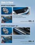 Civic Sport Plus Paket - Honda - Seite 2