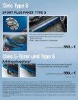 Civic Sport Plus Paket - Honda - Seite 3