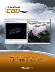 PC CAD Flyer Page 1 - MicroSurvey Software, Inc.