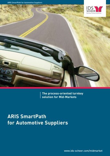 ARIS SmartPath for Automotive Suppliers The ... - Software AG