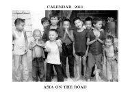 CALENDAR 2011 ASIA ON THE ROAD - Alistair J Bray