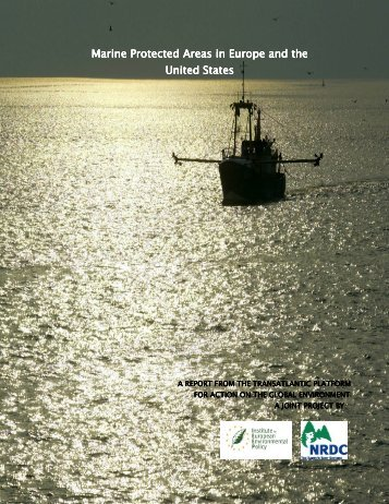 Marine Protected Areas in Europe and the United States United States