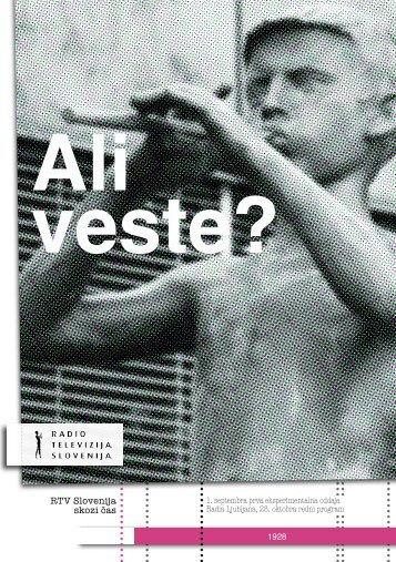 PDF datoteko - RTV Slovenija
