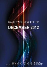 DECEMBER 2012 - RTV Slovenija