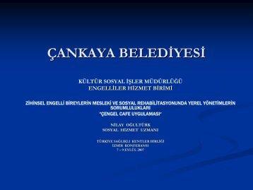 çengel cafe uygulaması - Türkiye Sağlıklı Kentler Birliği