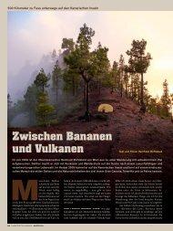Zwischen Bananen und Vulkanen - 500km zu Fuß auf den ... - Rytz