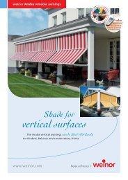Shade For Vertical Surfaces - telikert-arnyekolas.hu