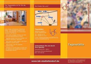 Tagesstätte - LOK Stadtallendorf