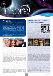 isic newsletter - British Association of Remote Sensing Companies