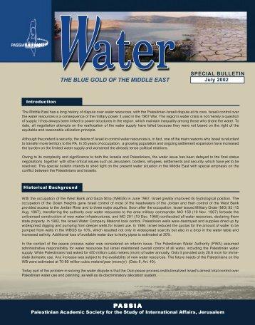 Water - PASSIA