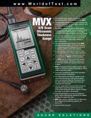 Download MVX A-Scan / B-Scan Thickness Gauge Leaflet