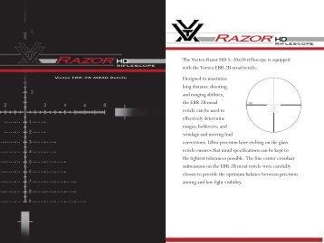 Vortex EBR-2B MRAD Reticle - Vortex Optics