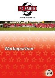 Broschüre Werbepartner - Fcbaden.tv
