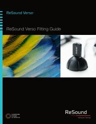 Verso Fitting Guide (MK603806rA) (Last updated 9/11 ... - ReSound