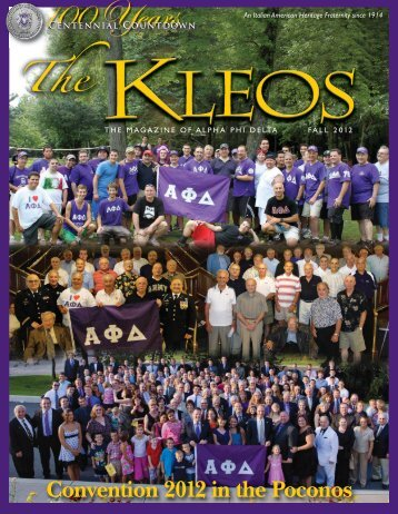the kleos - Alpha Phi Delta Foundation