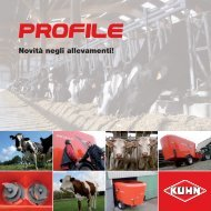 Profile Serie 80: strong points and advantages for the user - Kuhn
