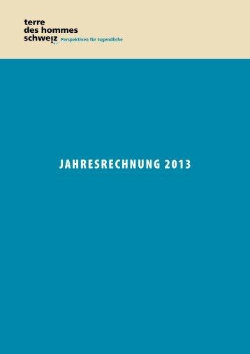 aktuelle Jahresrechnung de - Terre des Hommes Schweiz