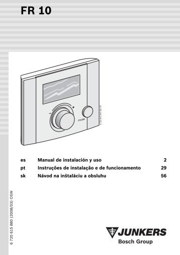 es Manual de instalación y uso 2 pt Instruções de instalação e de ...