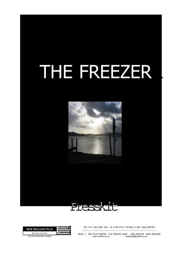 The Freezer Press Kit - New Zealand Film Commission