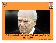 Erik Hazelhoff Roelfzema ('Soldaat van Oranje ... - Boekje Pienter
