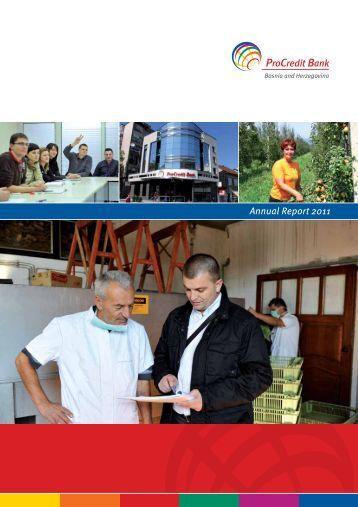 Annual Report 2011 - ProCredit