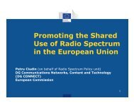 Promoting the Shared Use of Radio Spectrum in the ... - nitrd