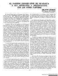 El Partido Conservador de Nicaragua y otros partidos - Biblioteca ...