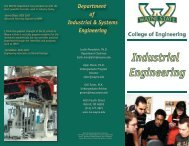 Undergraduate Brochure - College of Engineering - Wayne State ...