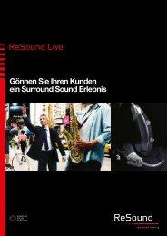 ReSound Live dispenser brochure - GN ReSound GmbH