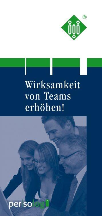Wirksamkeit von Teams erhöhen!