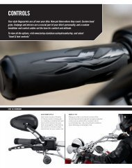 CONTROLS - Harley Davidson Shop