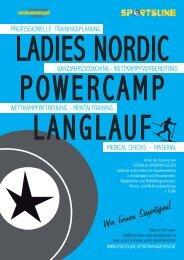 Ladies Nordic PowerCamp